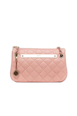 Blush Quilted Leather Bag-0