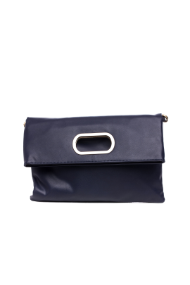 Dark Blue Folded Handbag-0