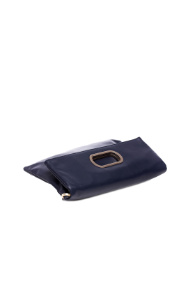 Dark Blue Folded Handbag-3