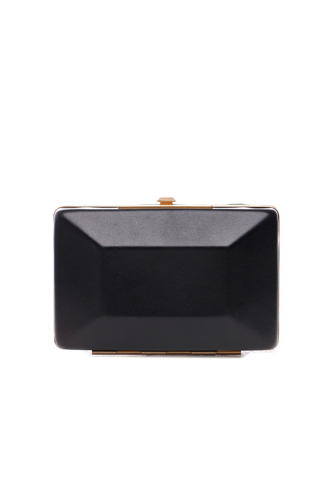 Box It Up Leather Clutch