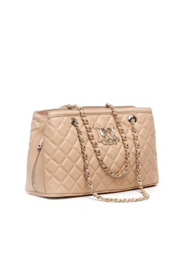 Sand Quilted Bag-2
