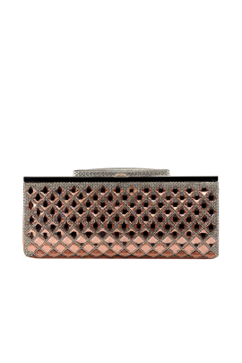 Peach Crystal Paradise Clutch-0