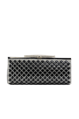 Black Crystal Paradise Clutch -0