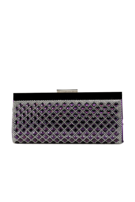 Purple Sparkling Clutch -0