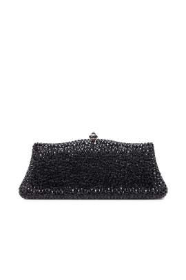 Black Crystal Elegance Clutch-0