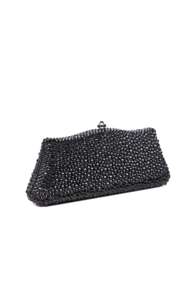 Black Crystal Elegance Clutch-2