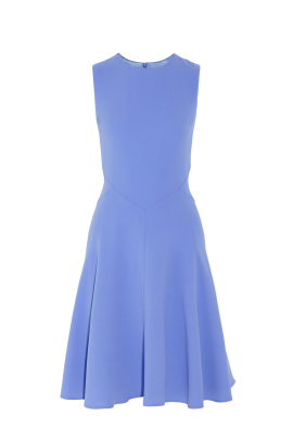 Light Blue Crepe Dress / VILNIUS-0