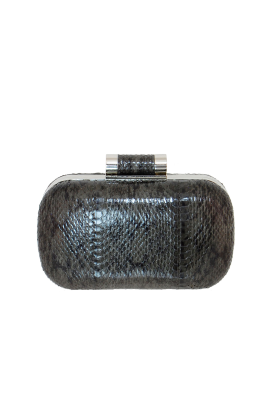 Grey Lia Clutch-0
