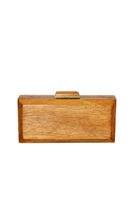 Natural Wooden Clutch / VILNIUS-0
