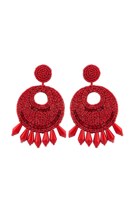 Red Gipsy Earrings-0