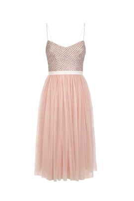 Blossom Pink Ballet Dress-4