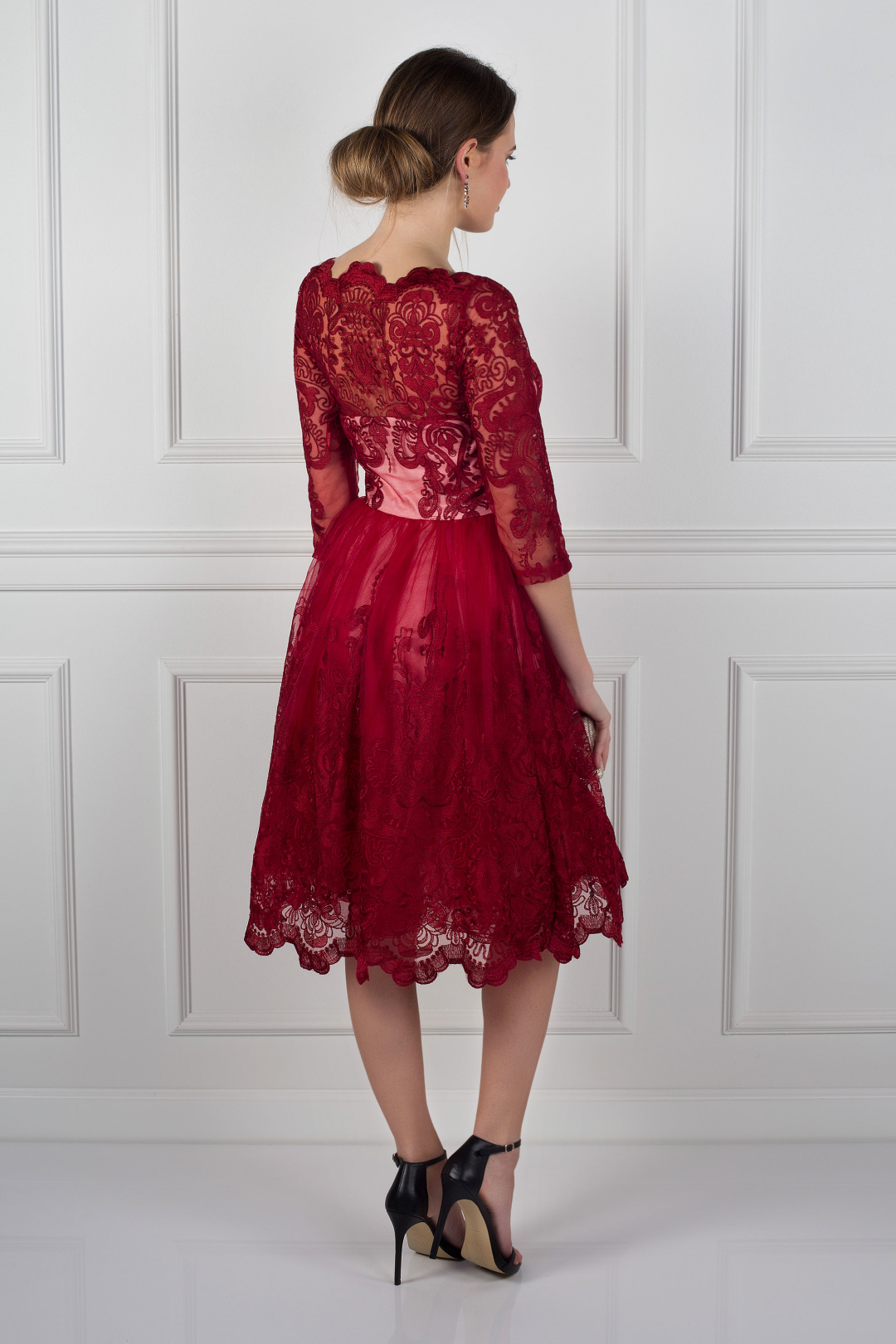Red Aviana Dress