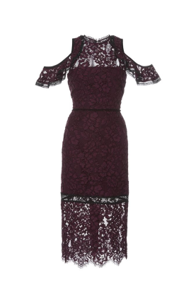 Burgundy Evie Dress-0