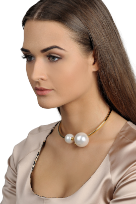 White Pearl Collar-1
