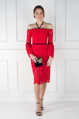 Red Odette Dress / VILNIUS-1