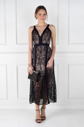 Wanderlust Lace Dress-0