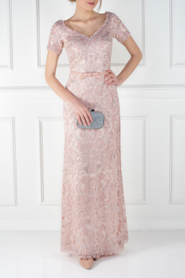 Blush Pink Mito Gown-0