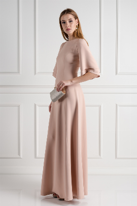 Blush Onyx Evening Dress-1
