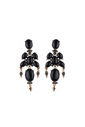 Black Gothic Earrings / VILNIUS-0