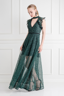 Eleanora Emerald Gown -0