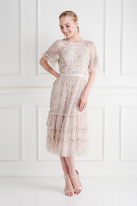 * Constellation Lace Dress-2