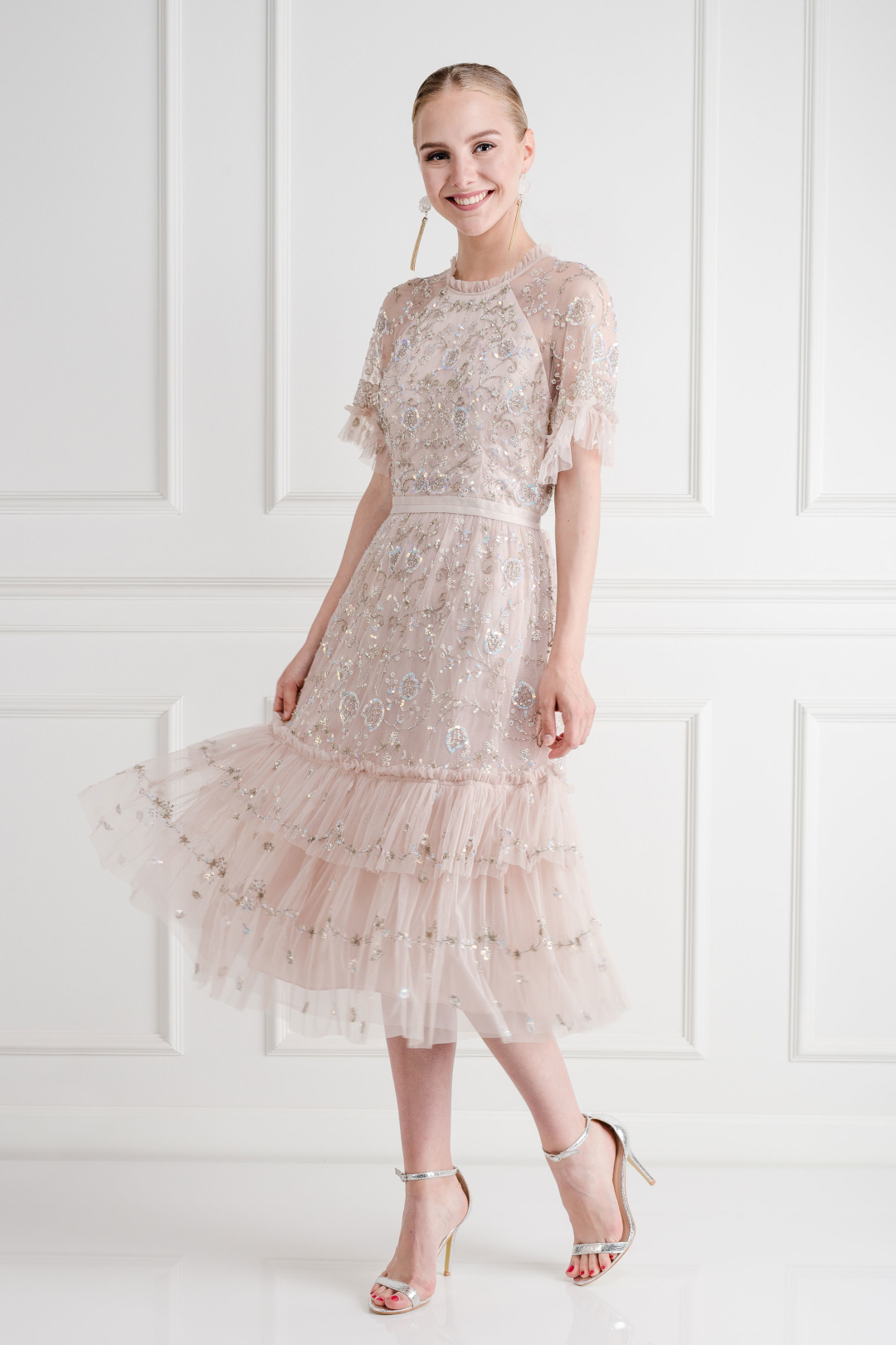 Constellation Lace Dress