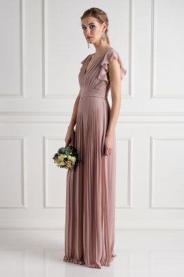 Lyon Pale Mauve Dress-1