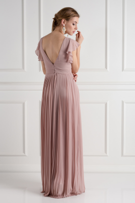 Lyon Pale Mauve Dress-2