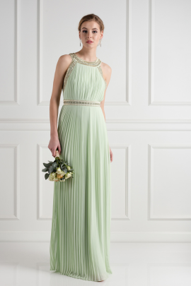 Janice Spring Green Dress-0