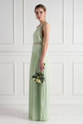 Janice Spring Green Dress-1