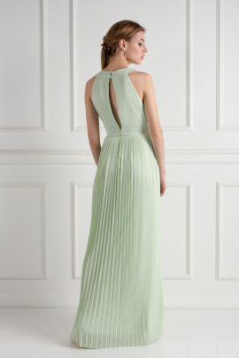Janice Spring Green Dress-2