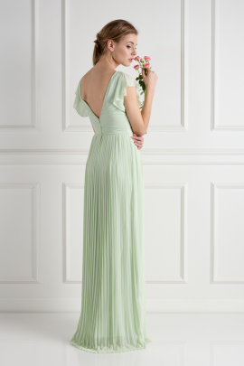 Lyon Spring Green Dress-2