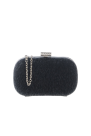Black Fur Clutch