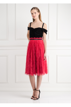 Chantilly Rouge Dress-0