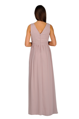 Applique Bodice Maxi Dress-3