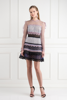 Bellis Lace Trim Dress / VILNIUS-0