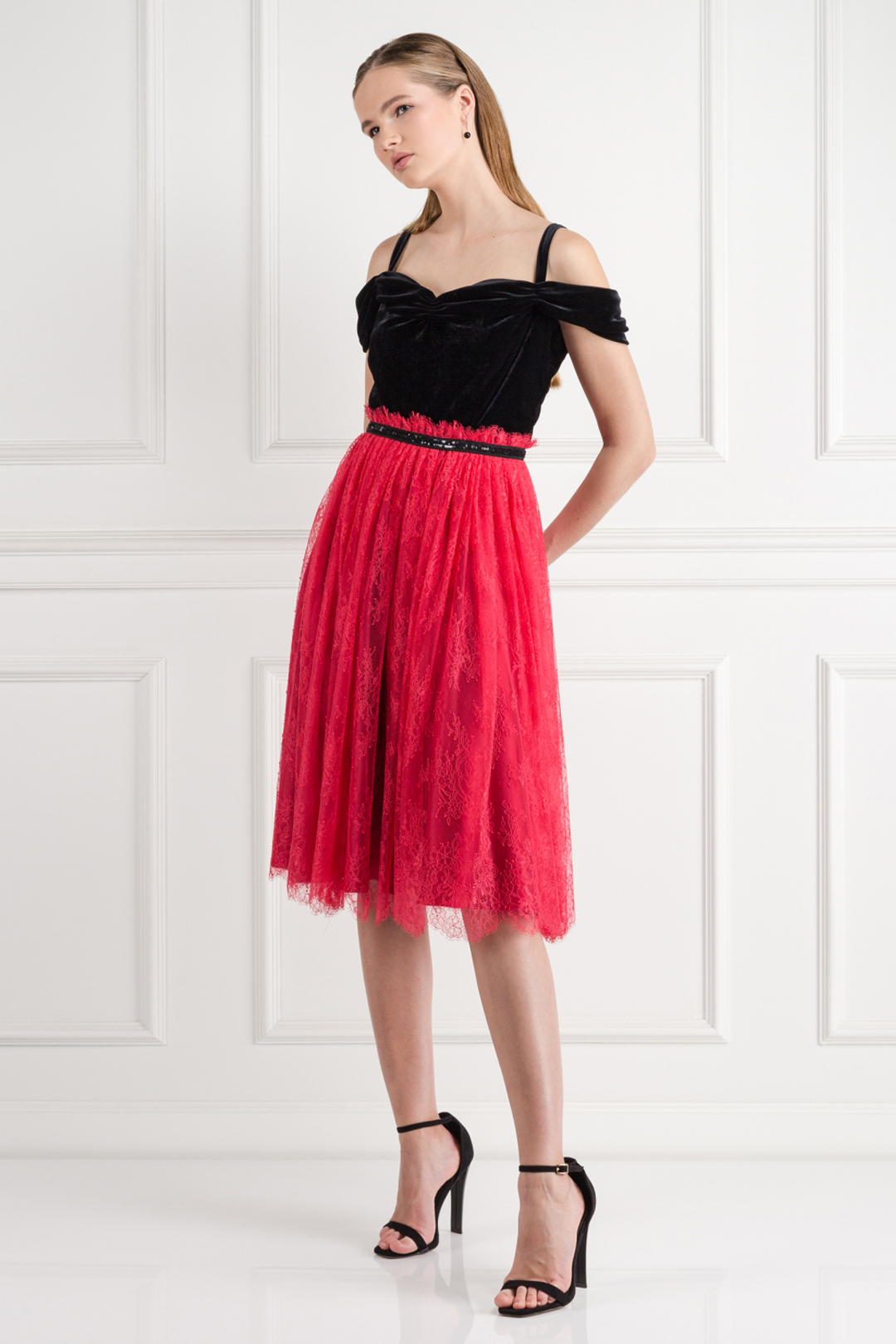 Chantilly Rouge Dress
