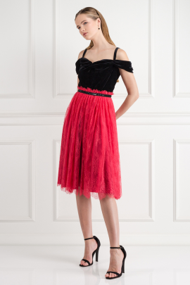 Chantilly Rouge Dress-1