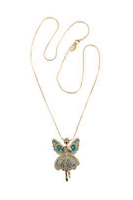 Fairy Butterfly Necklace-0