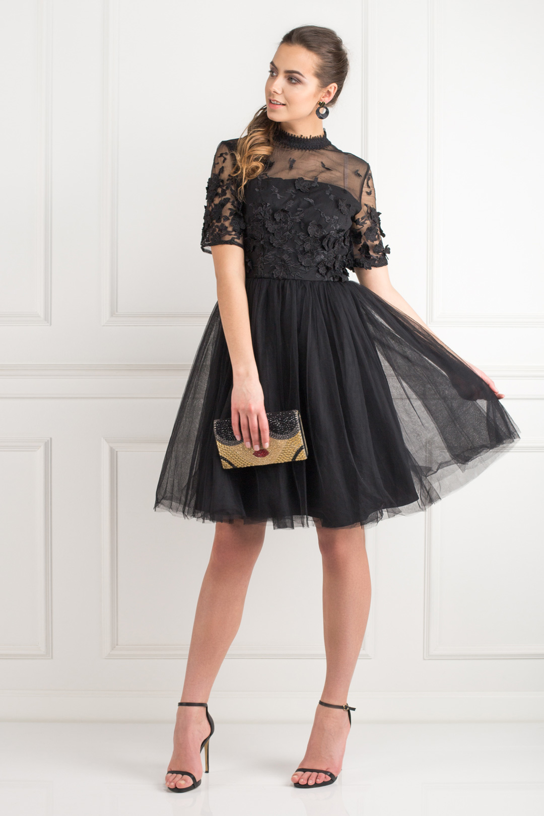 Oria Black Dress