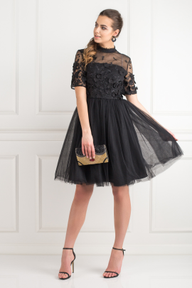 Oria Black Dress-0