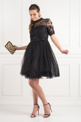 Oria Black Dress-1