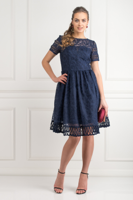 Sheridan Navy Dress-0