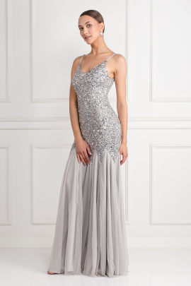 Sequin Maxi Dress-1