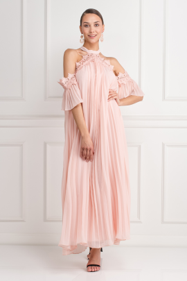 Swing Dress In Pink-0