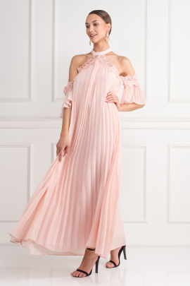 Swing Dress In Pink-1