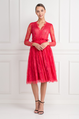 Chantilly Rose Dress-0