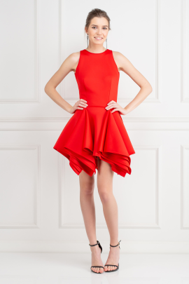 Red Claudia Dress-0