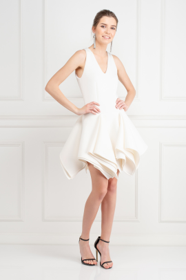 White Claudia Dress / VILNIUS-1