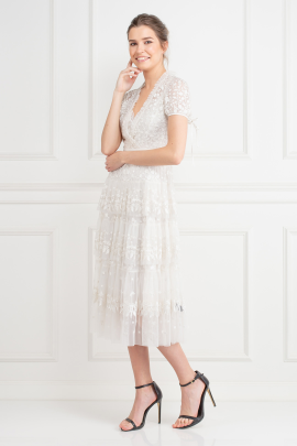 Layered Lace Dress / VILNIUS-1